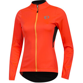 PEARL iZUMi Elite Pursuit AmFIB Jacket Damen fiery coral/black